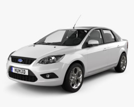 Ford Focus sedan 2008 3D model
