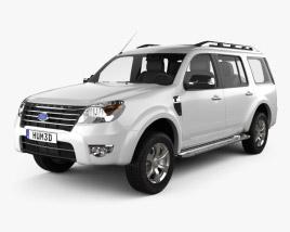 Ford Everest 2012 3D model