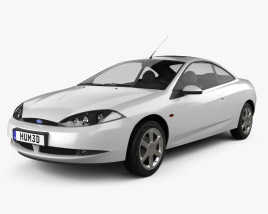 Ford Cougar 2002 3D model