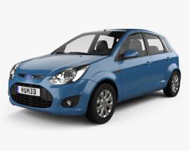 Ford Figo (Ikon Hatch) 2012 3D model