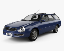 Ford Scorpio wagon 1994 3D model