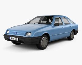 Ford Sierra hatchback 5-door 1984 3D model
