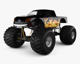 Ford F-150 Monster Truck 2012 3D model