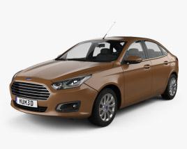 Ford Escort 2014 3D model