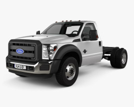 Ford F-550 Regular Cab Chassis 2010 3D model