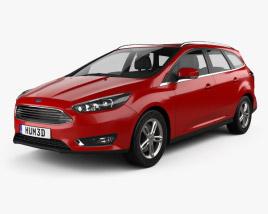 Ford Focus turnier 2014 3D model