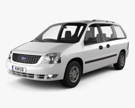 Ford Freestar 2003 3D model