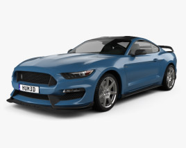 Ford Mustang (Mk6) Shelby GT350R 2015 3D model