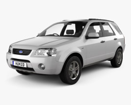 Ford Territory (SY) 2005 3D model
