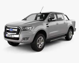 Ford Ranger Double Cab 2015 3D model