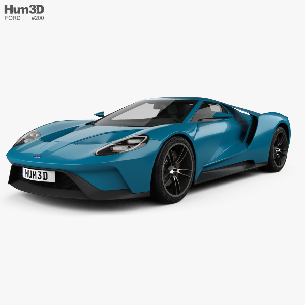 Ford Gt Concept  D Model