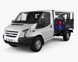 Ford Transit Milk Float Truck 2012 3D model