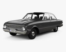 Ford Falcon 1960 3D model