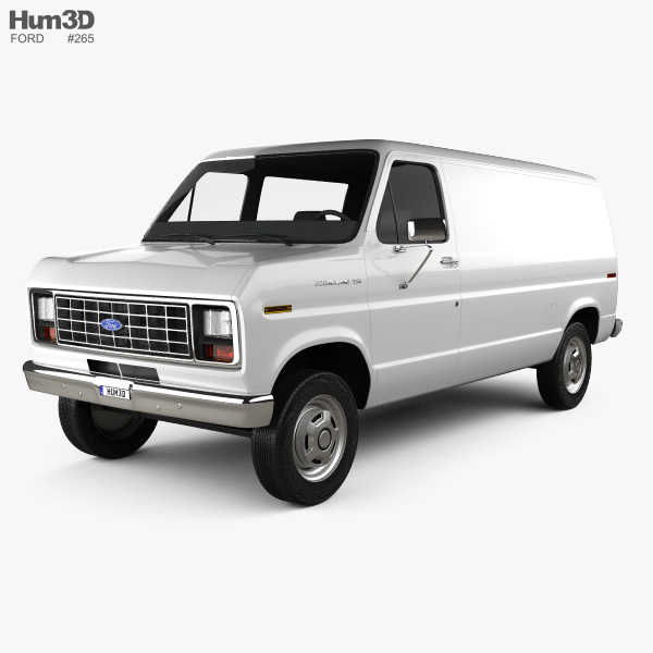Ford E-series 3D Models Download