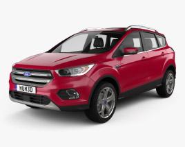 Ford Escape Titanium 2017 3D model
