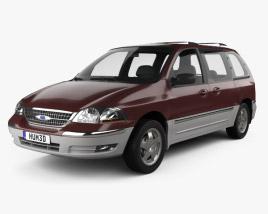 Ford Windstar 1999 3D model