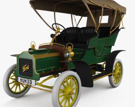 Ford Model F Touring 1905 3D model
