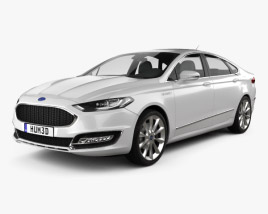 Ford Mondeo (Fusion) Vignale 2015 3D model