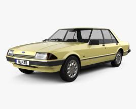 Ford Falcon 1982 3D model