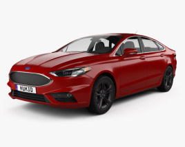 Ford Fusion (Mondeo) Sport 2015 3D model