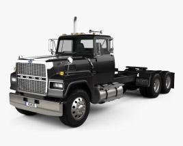 Ford LTL900 Tractor Truck 1981 3D model