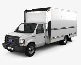Ford E-350 Box Truck 2016 3D model