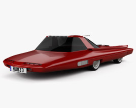 Ford Nucleon 1958 3D model