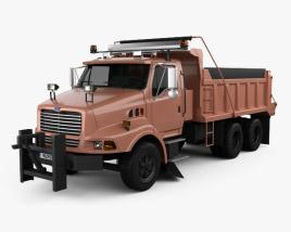 Ford Louisville Dump Truck 1998 3D model