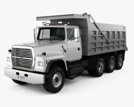 Ford L9000 Dump Truck 4-axle 1997 3D model
