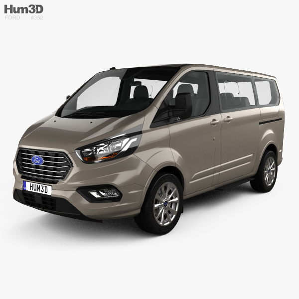 ford tourneo custom l1 2017 3d model vehicles on hum3d. Black Bedroom Furniture Sets. Home Design Ideas