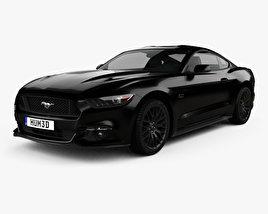 Ford Mustang GT EU-spec fastback 2015 3D model