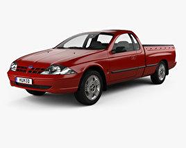 Ford Falcon UTE XLS 2000 3D model