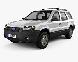 Ford Escape XLT Sport 2003 3D model
