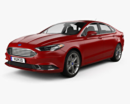 Ford Fusion Titanium 2017 3D model