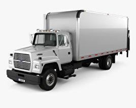 Ford LN8000 Box Truck 1995 3D model