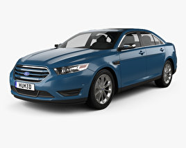 Ford Taurus Limited 2013 3D model