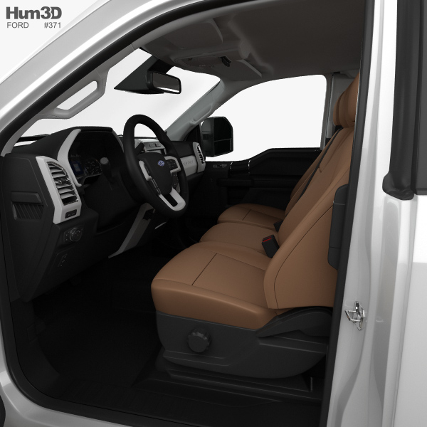 Ford F-250 Super Duty Super Cab XLT With HQ Interior 2015