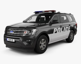 Ford Expedition Police 2017 3D model