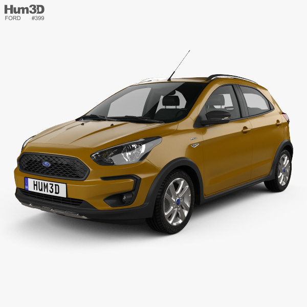 Ford Ka Plus Active Freestyle Hatchback  D Model