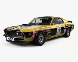 Ford Mustang John Bowe 1969 3D model