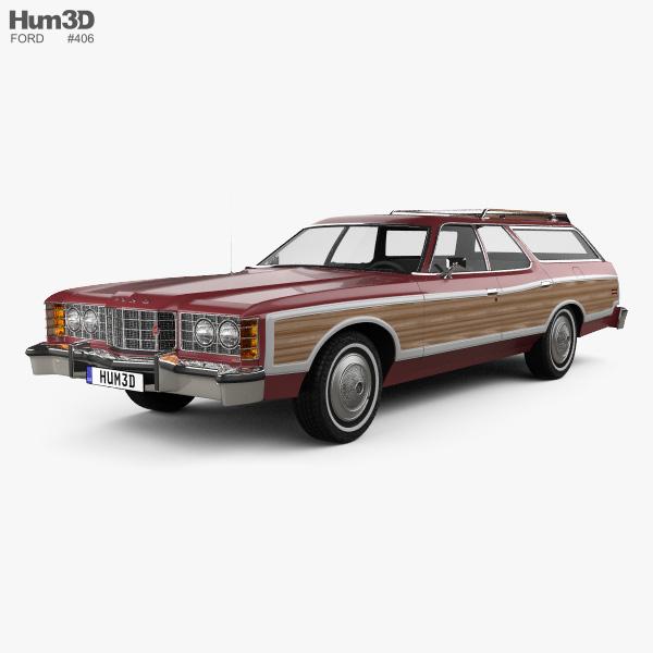 Ford 3D Models - Hum3D