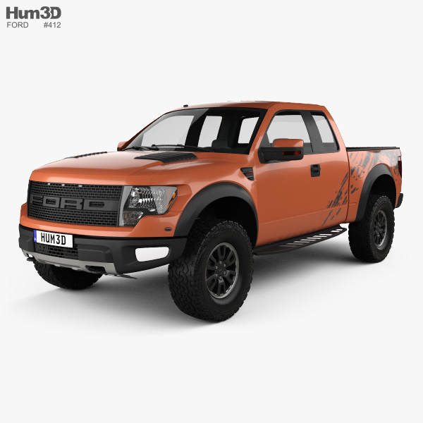 Ford F 150 Raptor Supercab