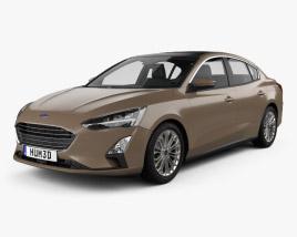 Ford Focus Titanium CN-spec sedan 2018 3D model