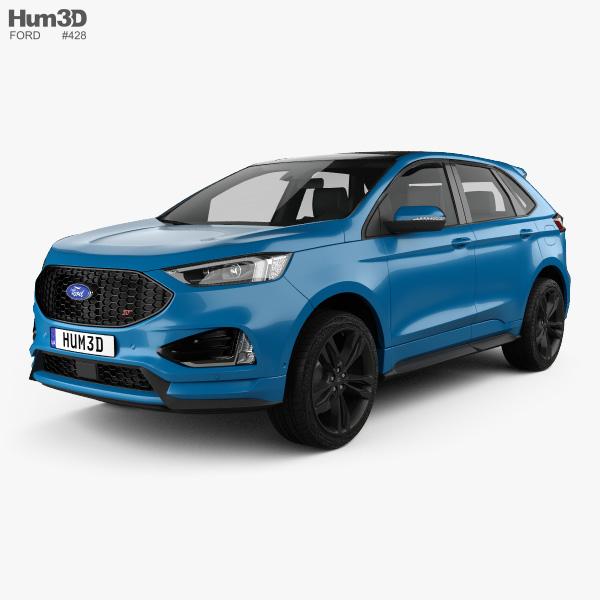 Ford Edge ST 2019 3D Model