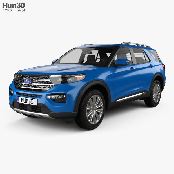 ford explorer limited hybrid   model vehicles  humd