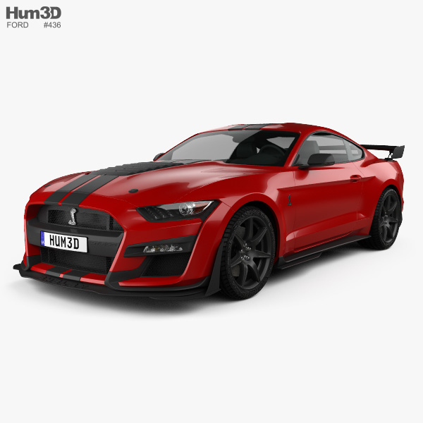Ford Sports Car Models: Ford Sports Car 3D Models