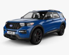 Ford Explorer ST 2020 3D model