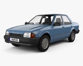Ford Orion 1986 3D model