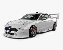 Ford Mustang V8 Supercars 2019 3D model