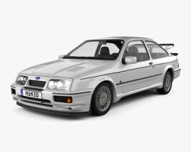 Ford Sierra Cosworth RS500 1986 3D model